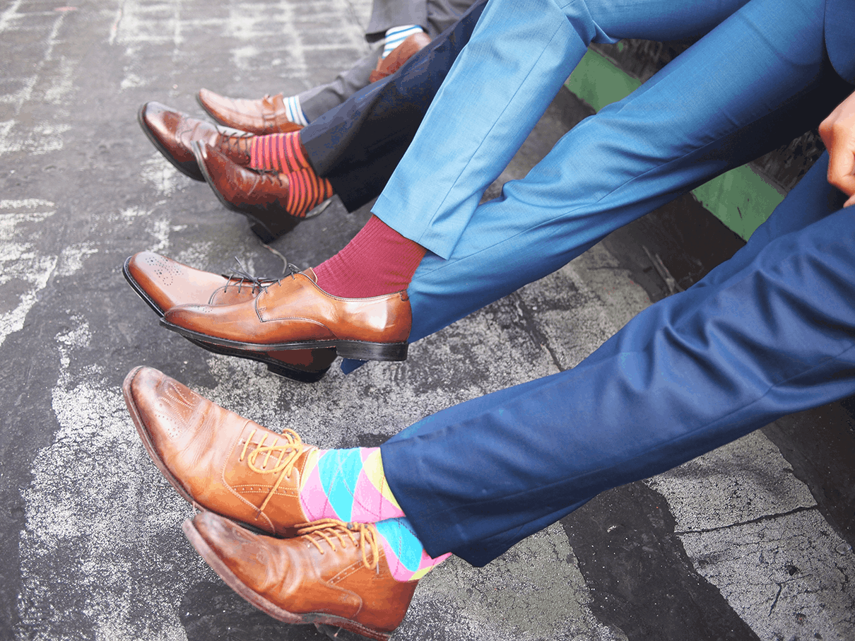 Colour Socks To Wear With Brown Shoes