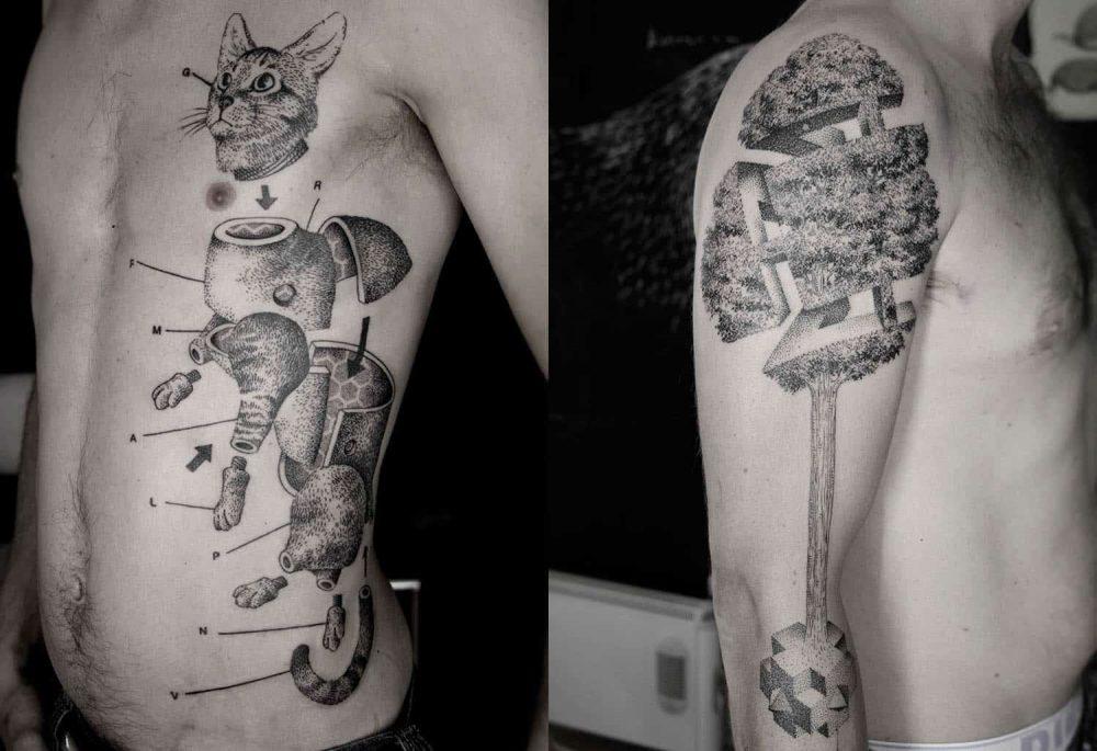 Expanded Anatomy Tattoo