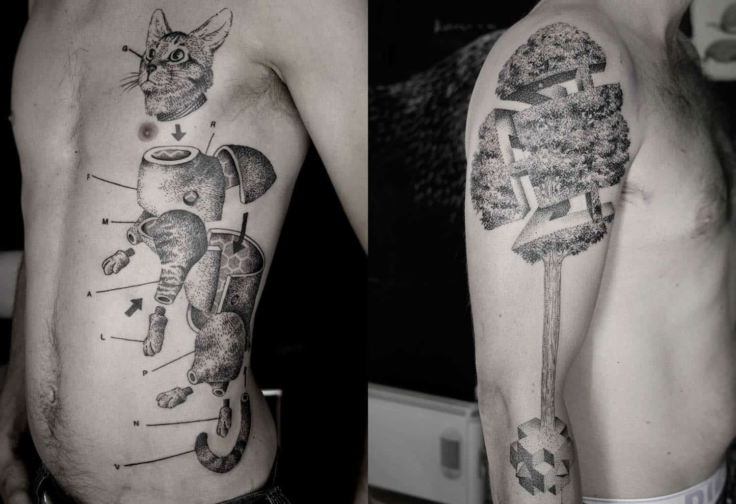 Pieces and Parts – 3D tattoo