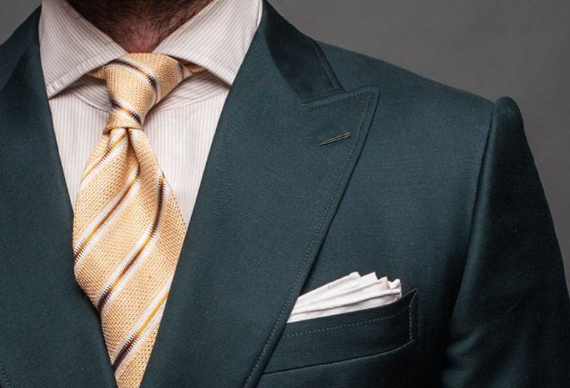 Roped Shoulder – types of suits