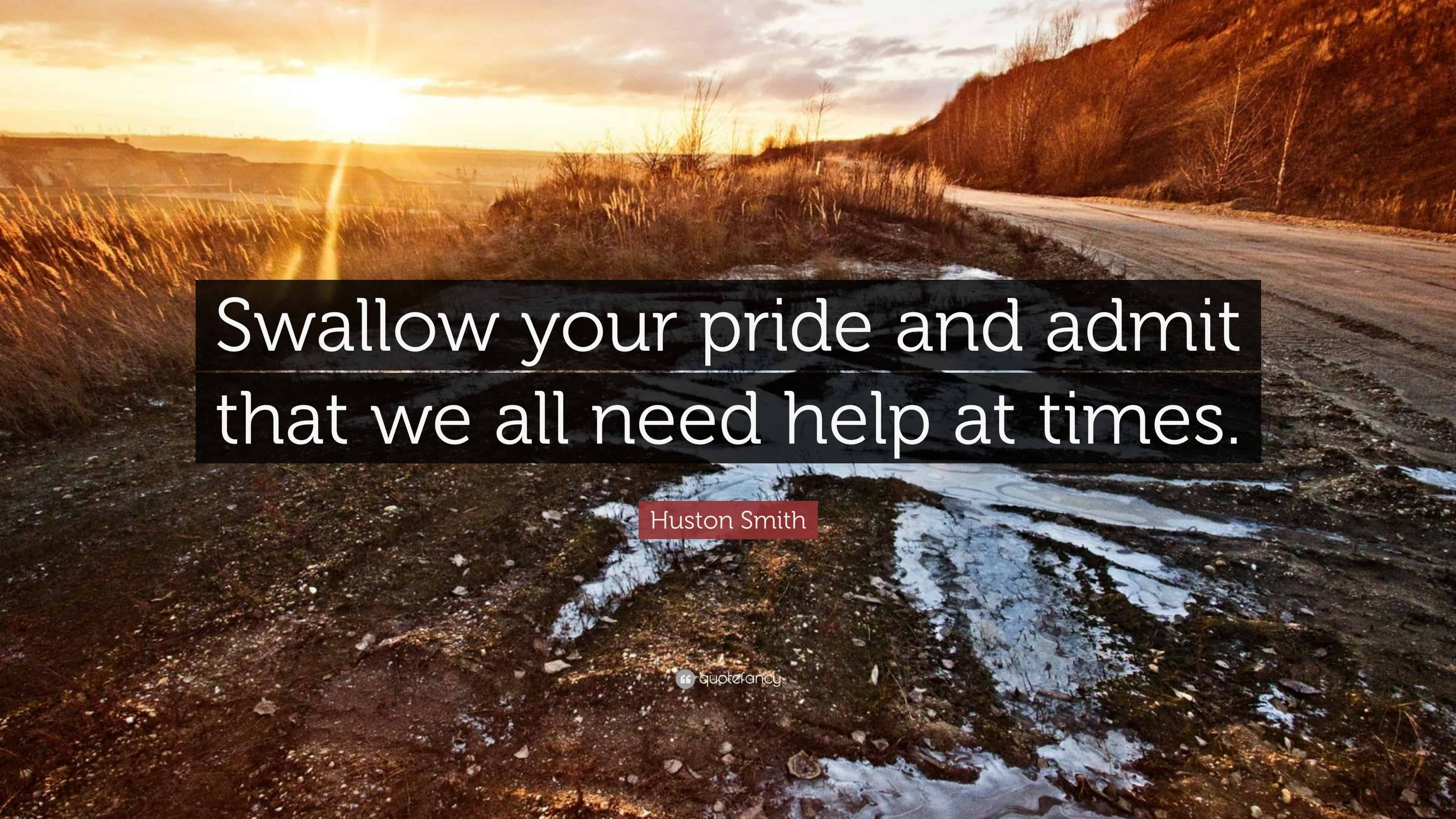 Swallow Your Pride – how to save money