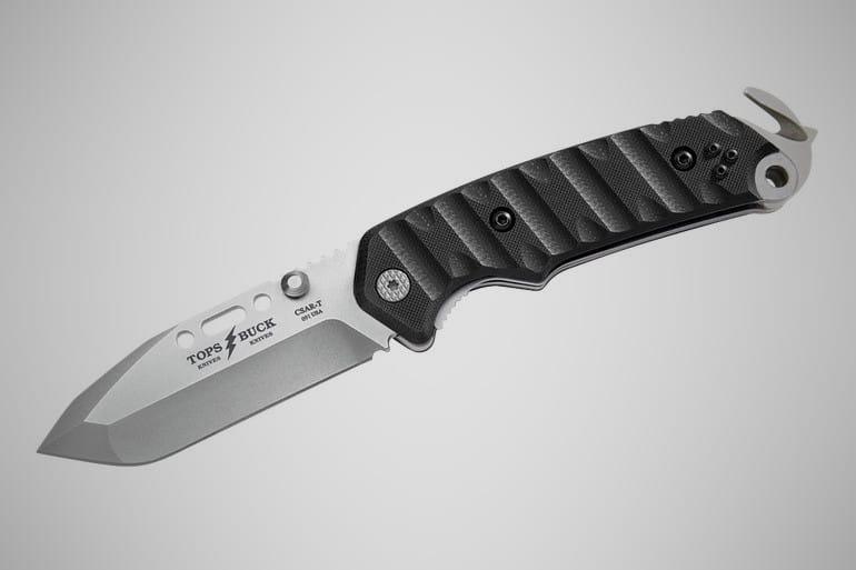 Tops CSAR-T Responder Buck Knife