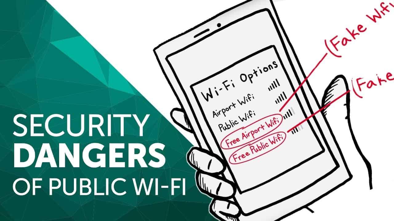 Avoid Open WiFi – computer virus protection