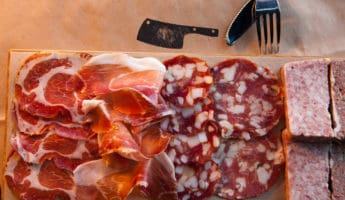 Begin With The Meat charcuterie plate 345x200 Cooks Guide To Making the Perfect Charcuterie Plate