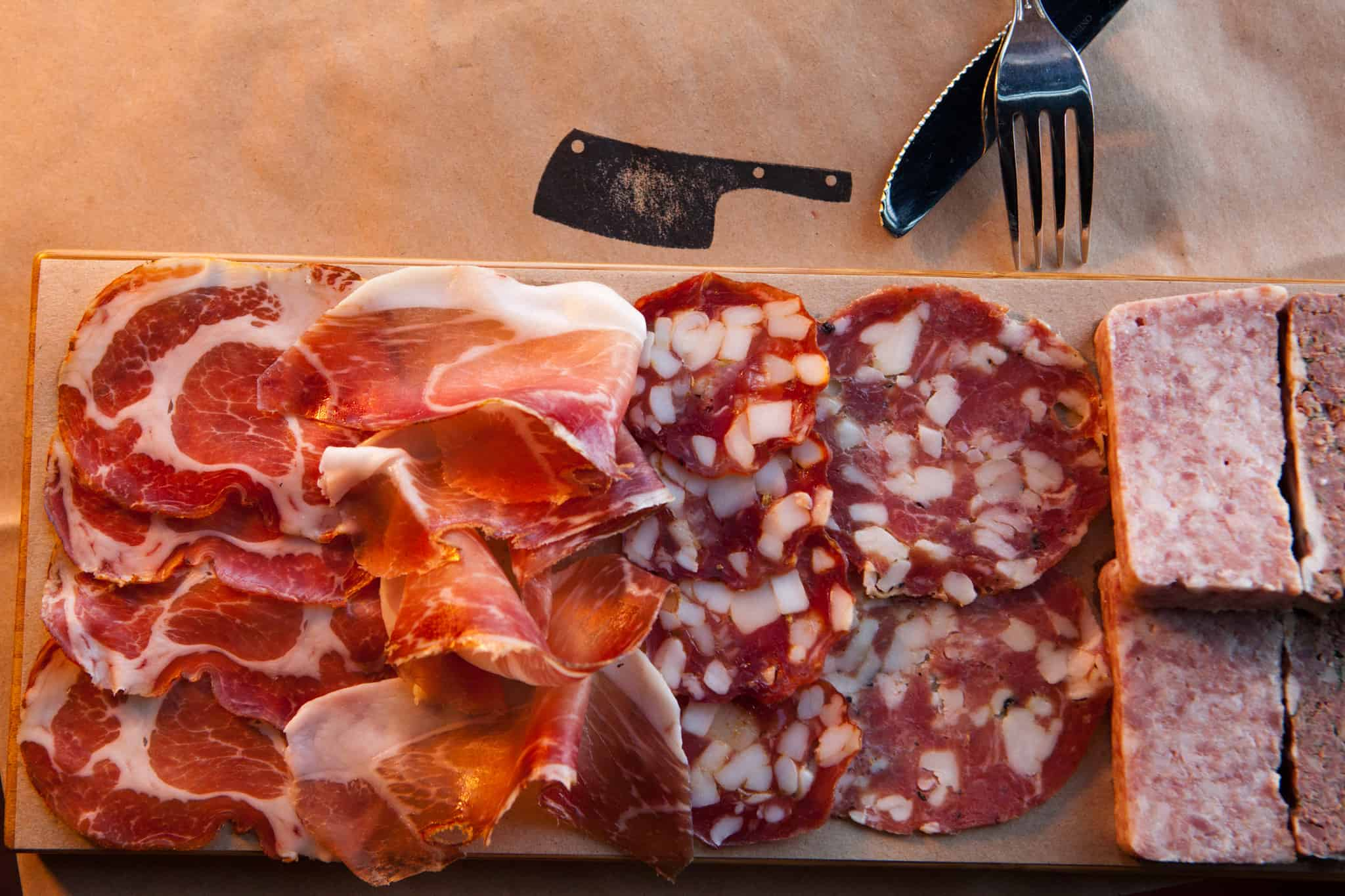 Begin With The Meat – charcuterie plate