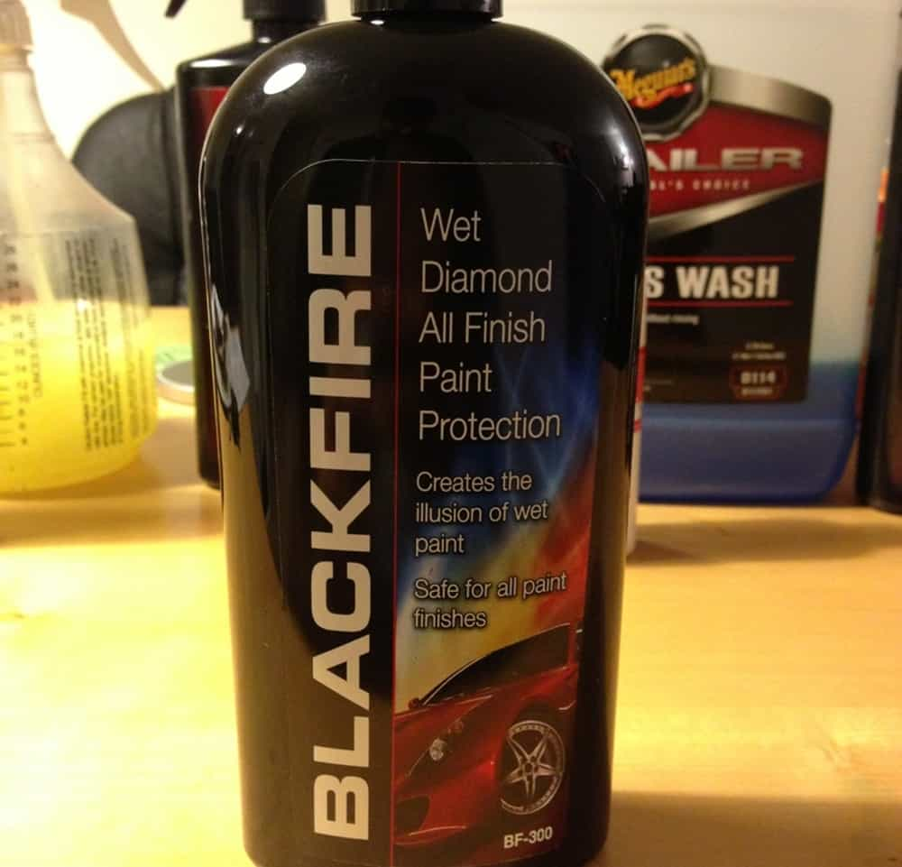 Blackfire Wet Diamond – car wax