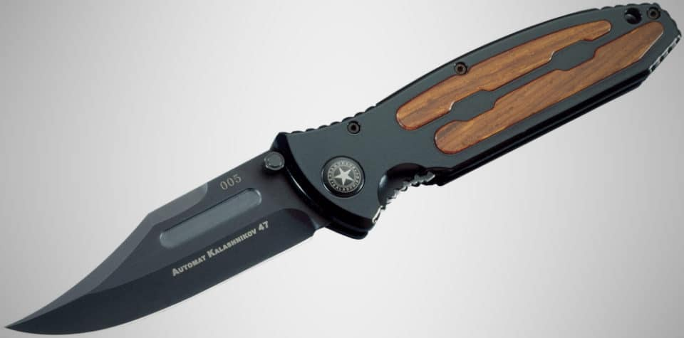 Boker Kalashnikov automatic knife 960x475 The 14 Best Automatic Knives, Tomorrows Switchblades