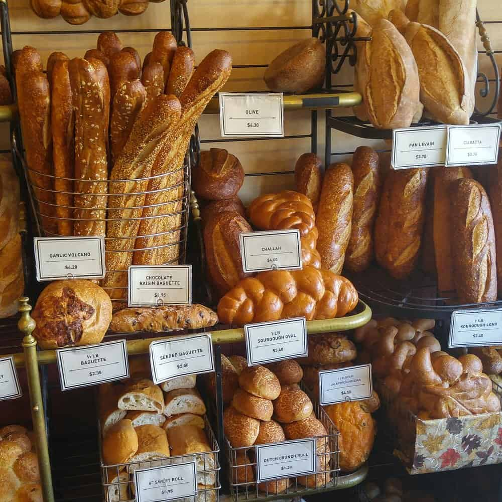 Breads – charcuterie plate