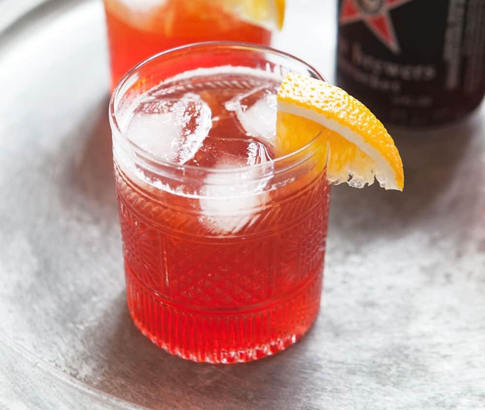 Campari Flamingo – rum cocktail