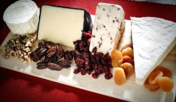 Cheese charcuterie plate 345x200 Cooks Guide To Making the Perfect Charcuterie Plate