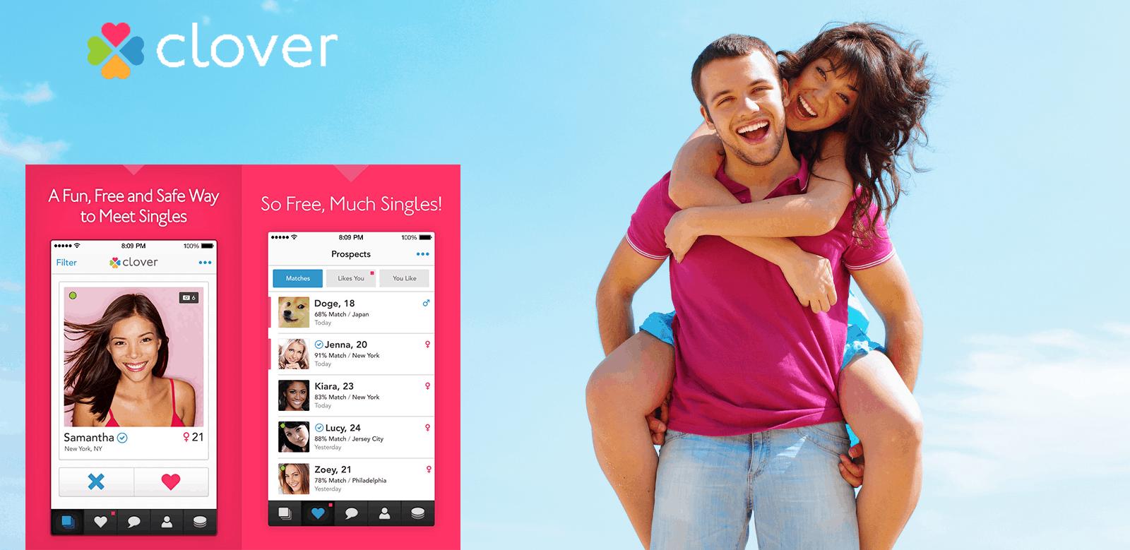 Clover – dating app