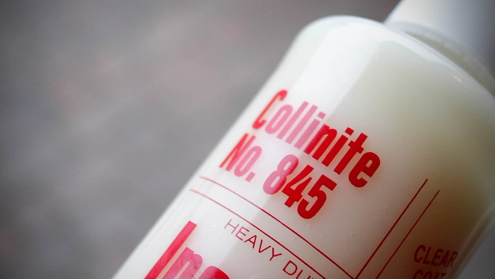 Collinite 845 – car wax