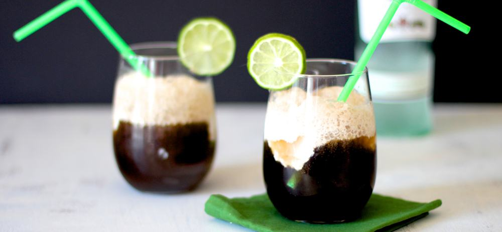 Dirty Coke Float – rum cocktail