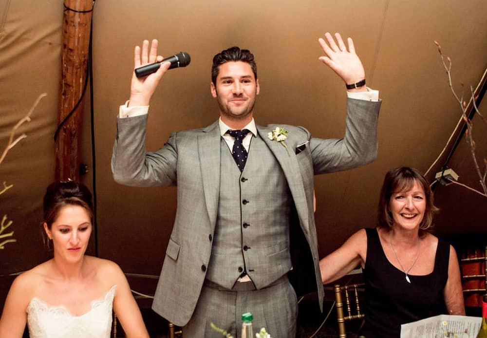 Don't Give a Speech – wedding etiquette