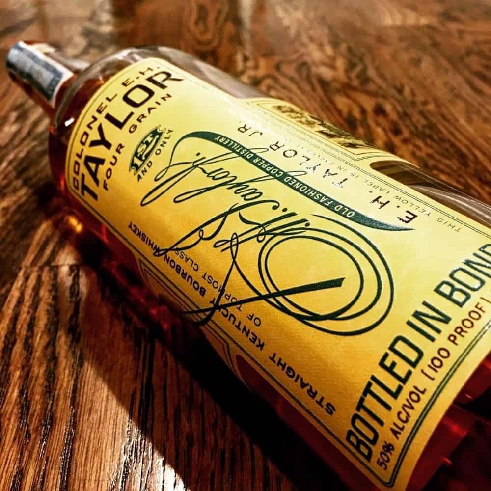 EH Taylor Four Grain – bourbon