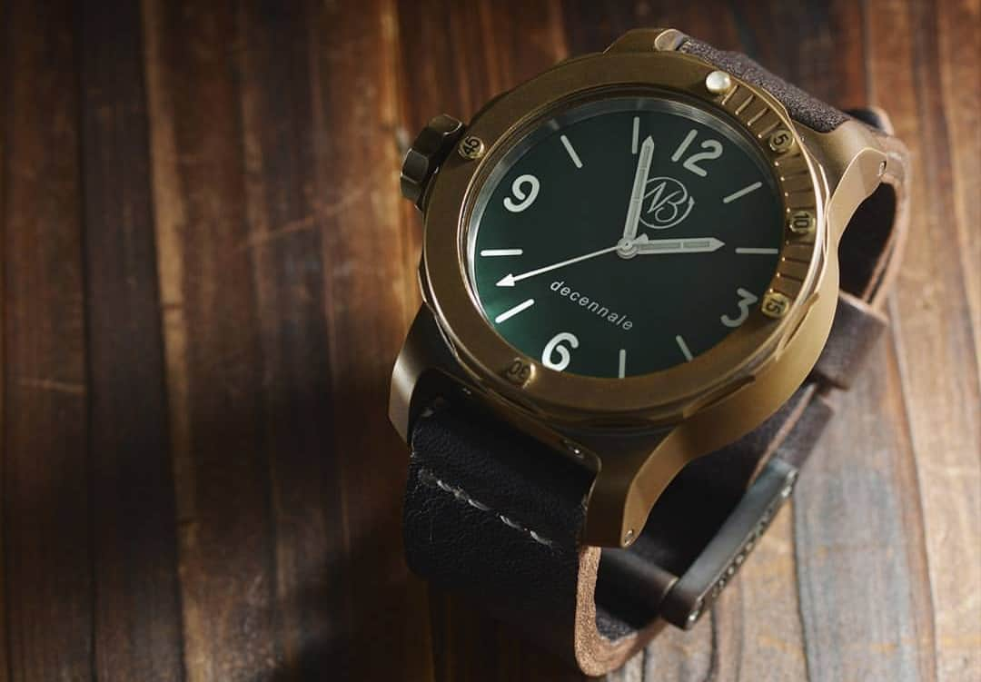 Ennebi Mictofo Bronzo – bronze watch