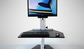 Ergo Desktop Kangaroo Pro Junior standing desk 345x200 Get Up, Live Longer: The 8 Best Standing Desks