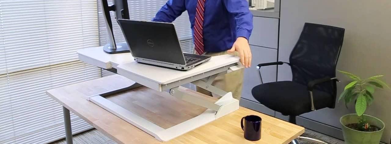 Ergotron WorkFit-T – standing desk