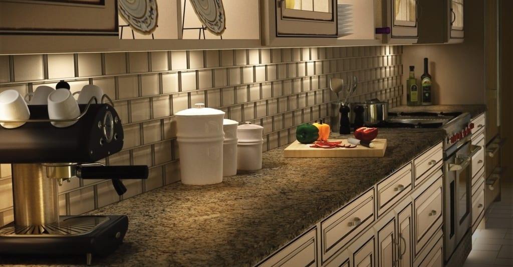 Fluorescent – under cabinet lighting