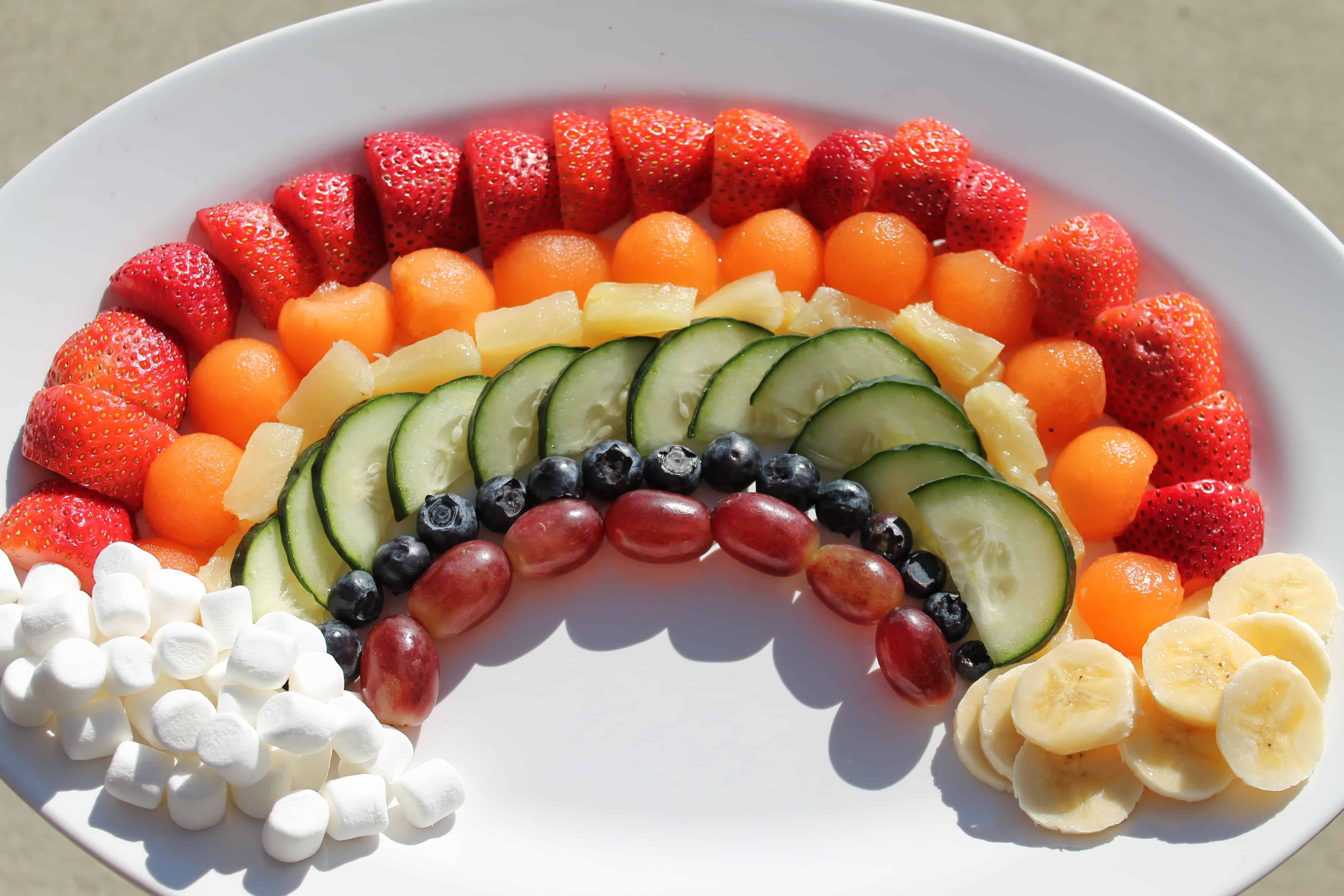 Fruits and Vegetables – charcuterie plate