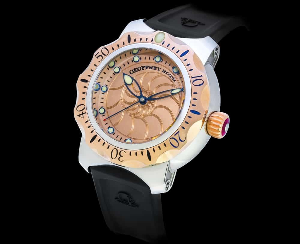Geoffrey Roth HHSD – bronze watch