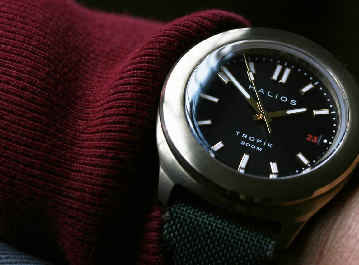 Halios Tropik – bronze watch