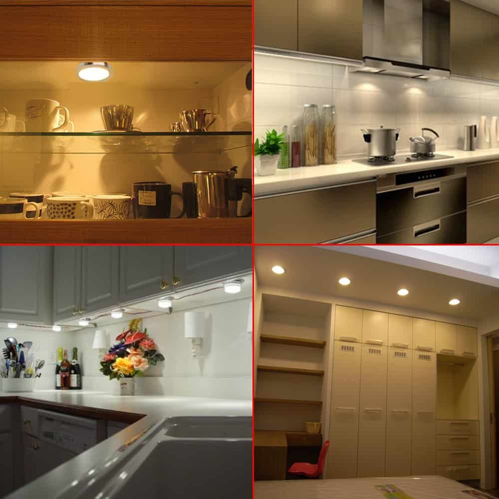 Hot and Cold Under Cabinet Lighting