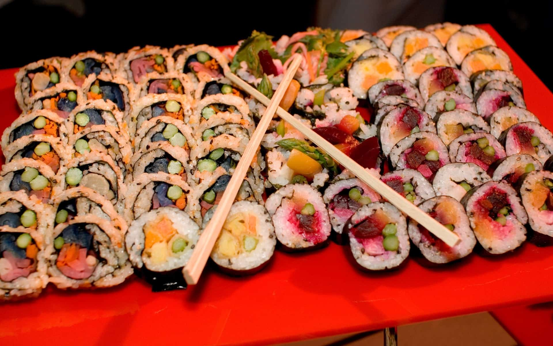 How to Eat Lots of Sushi