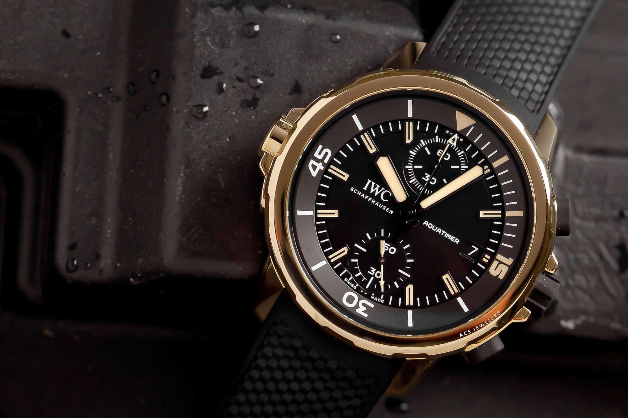 IWC Schaffhausen Aquatimer Expedition Charles Darwin – bronze watch