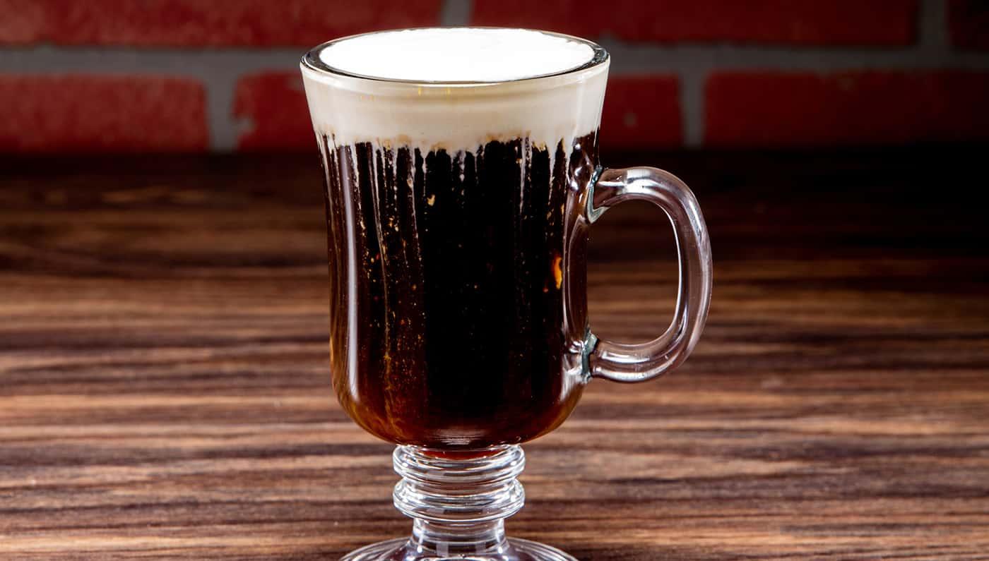 Irish Coffee – whiskey drink