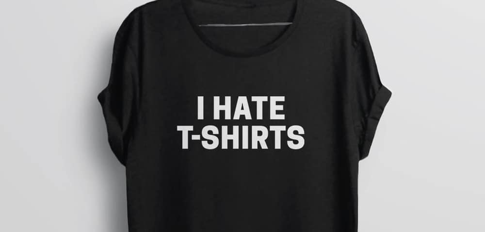 Ironic Shirts – fashion mistake