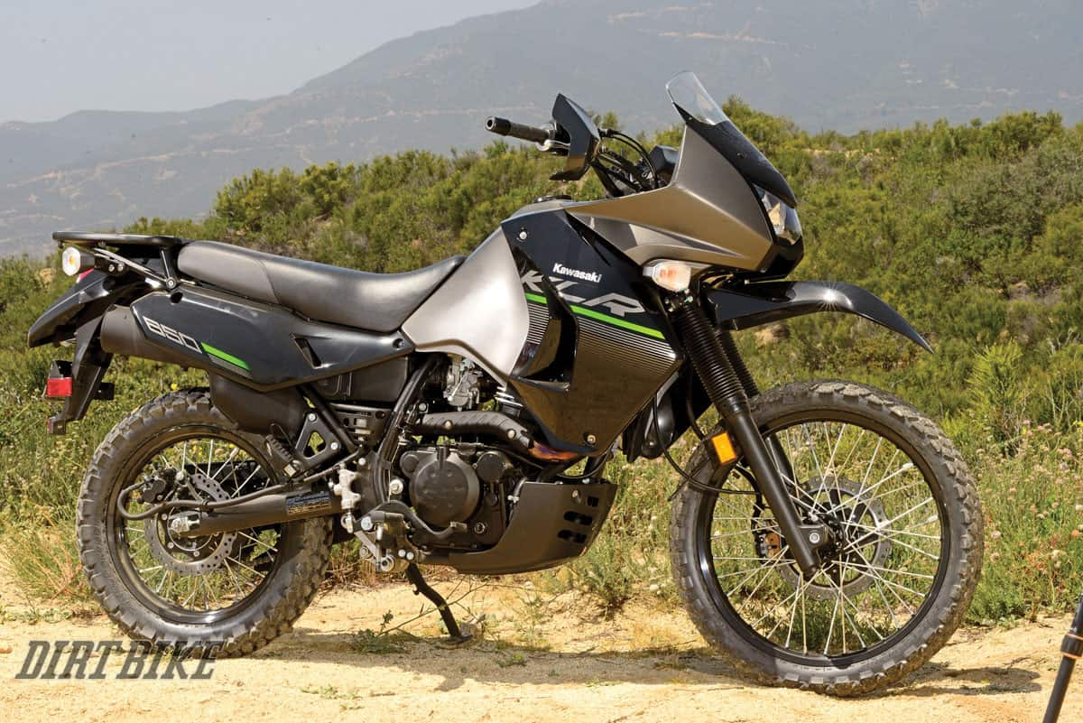 Kawasaki KLR 650 – adventure motorcycle