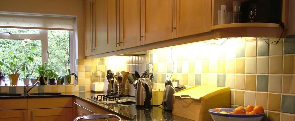 LED – under cabinet lighting