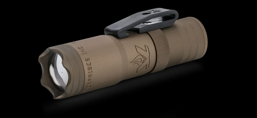 LensLight Mini TAD Edition – tactical flashlight