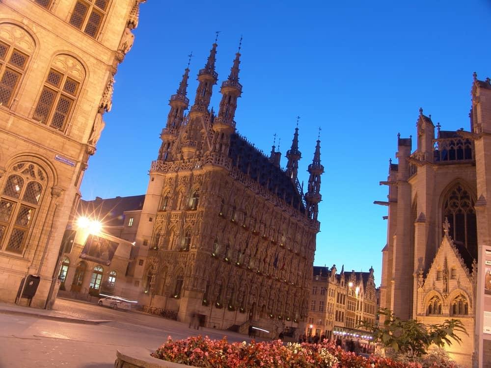 Leuven Town Hall – gothic architecture