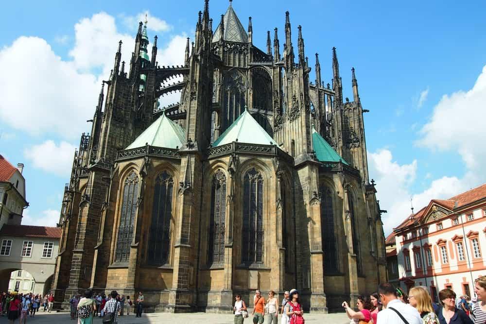 Metropolitan Cathedral of Saints Vitus – gothic architecture