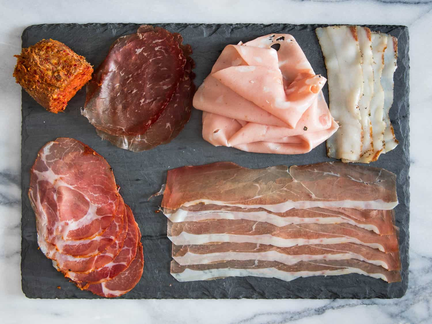 Mix The Cotto and The Crudo – charcuterie plate