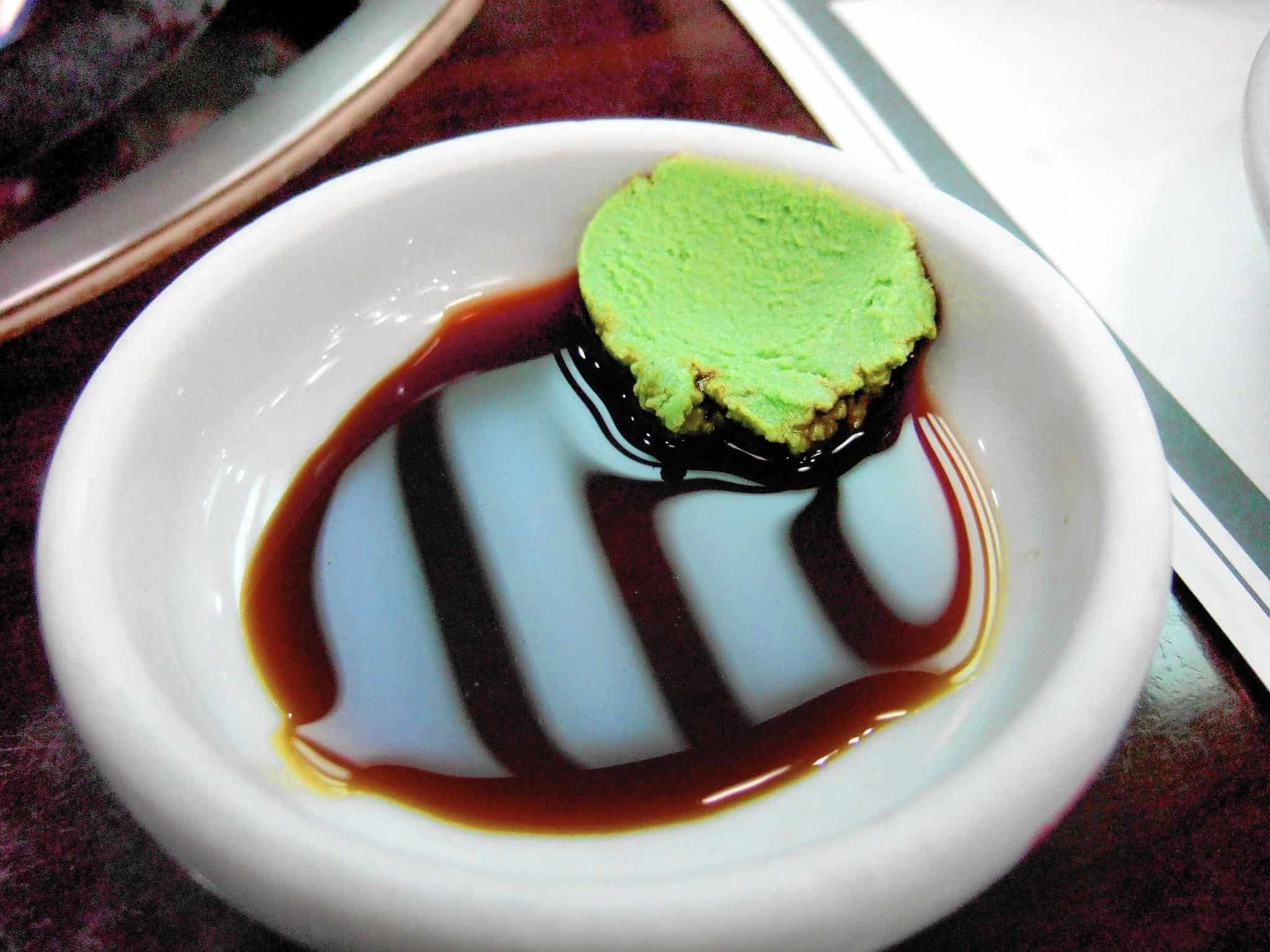 Never Mix Wasabi and Soy Sauce – how to eat sushi