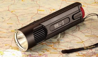Nitecore EC4S tactical flashlight 345x200 17 Best Tactical Flashlights for Night Fights