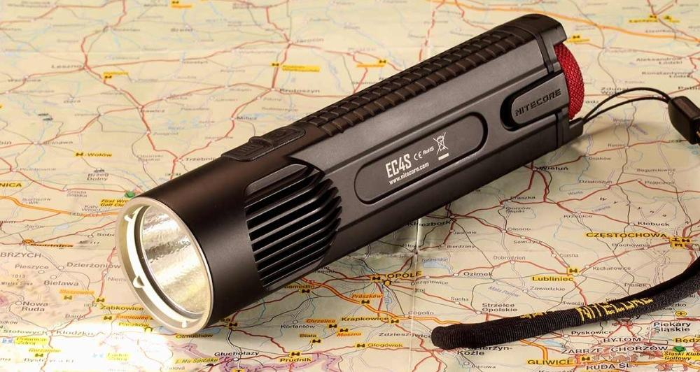 Nitecore EC4S – tactical flashlight
