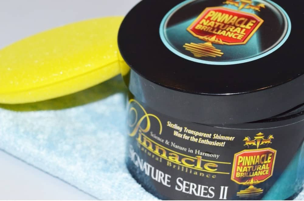 Pinnacle Signature Series II – car wax