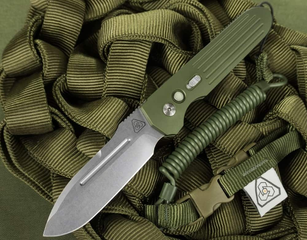 Prometheus Design Werx DW Invictus MIL-LE Edition – automatic knife