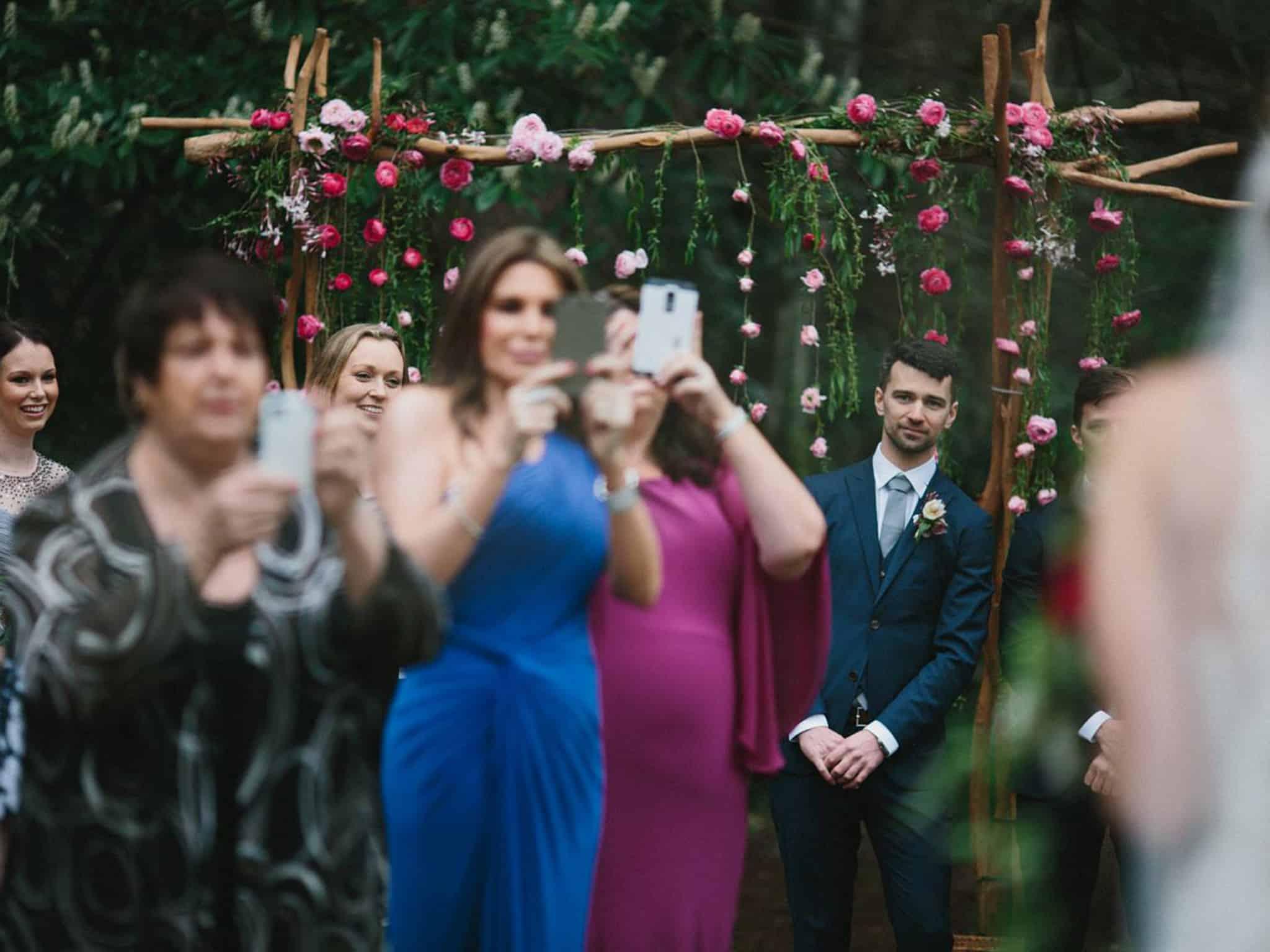 Put Phone Away – wedding etiquette