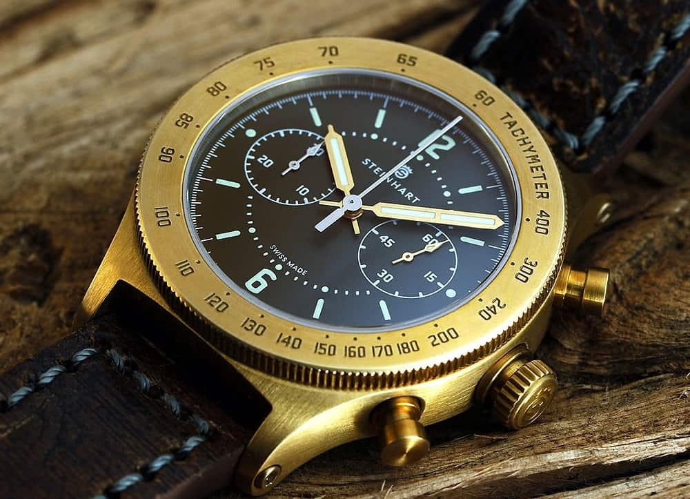 Steinhart Marine-Officer – bronze watch