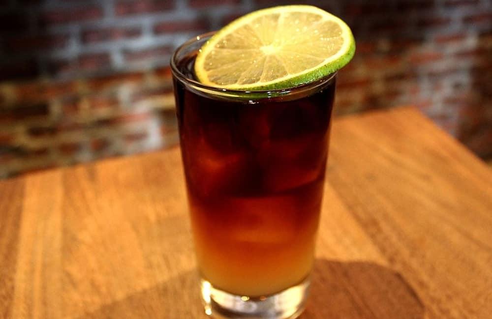 Stormy Seas – rum cocktail