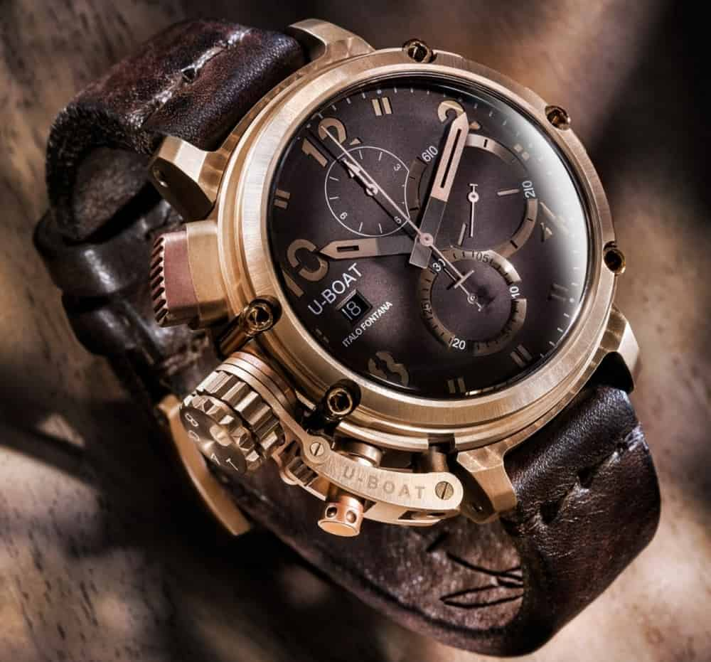 U-Boat Chimera – bronze watch