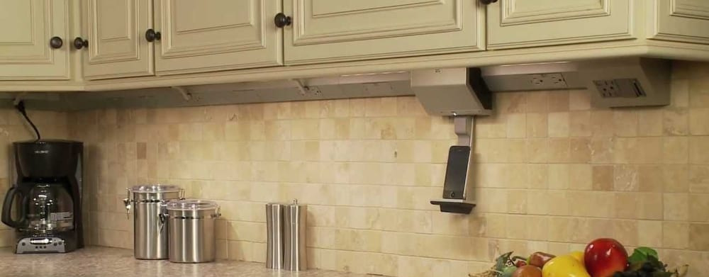 Under Cabinet Lights with Outlets
