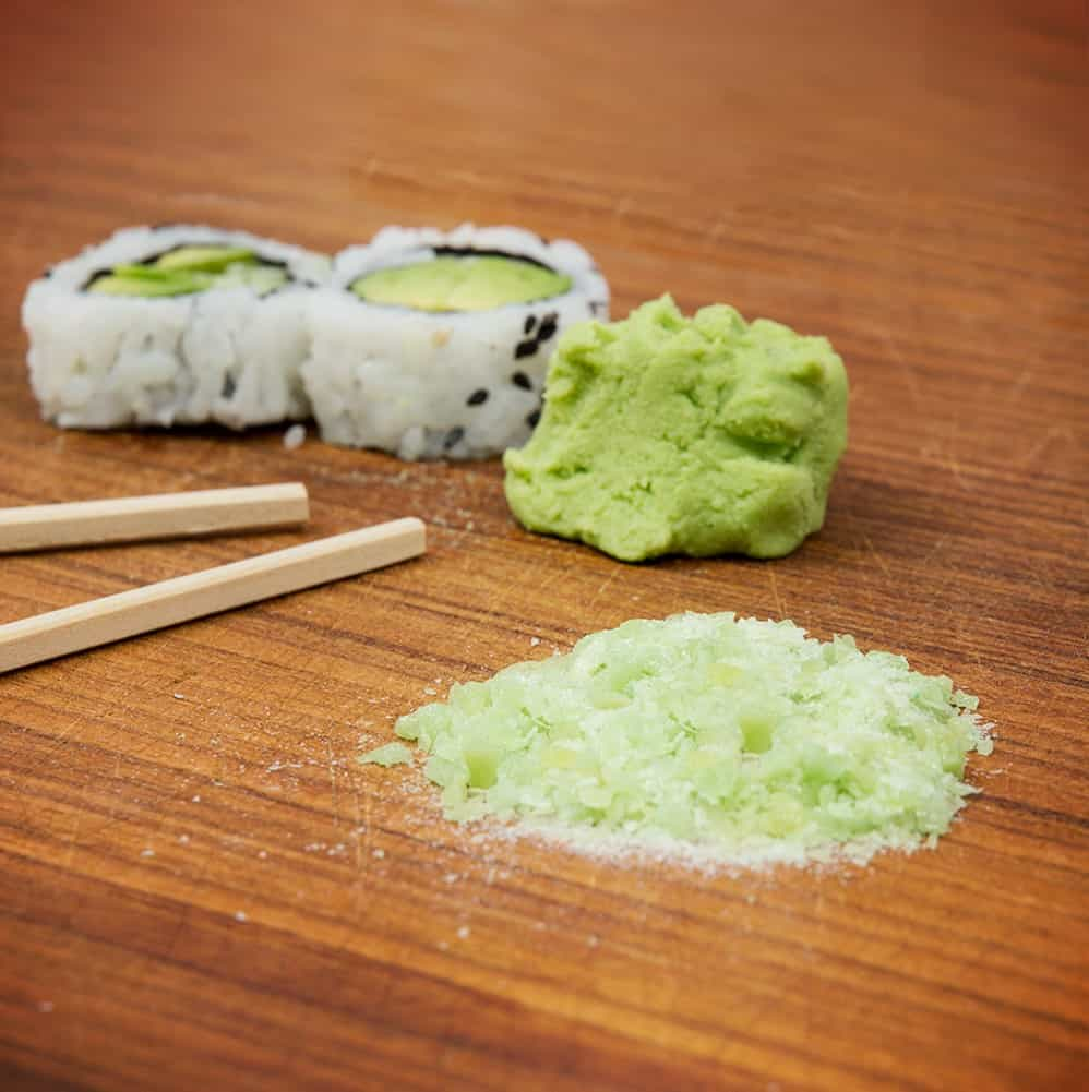 Wasabi Dressing – how to eat sushi