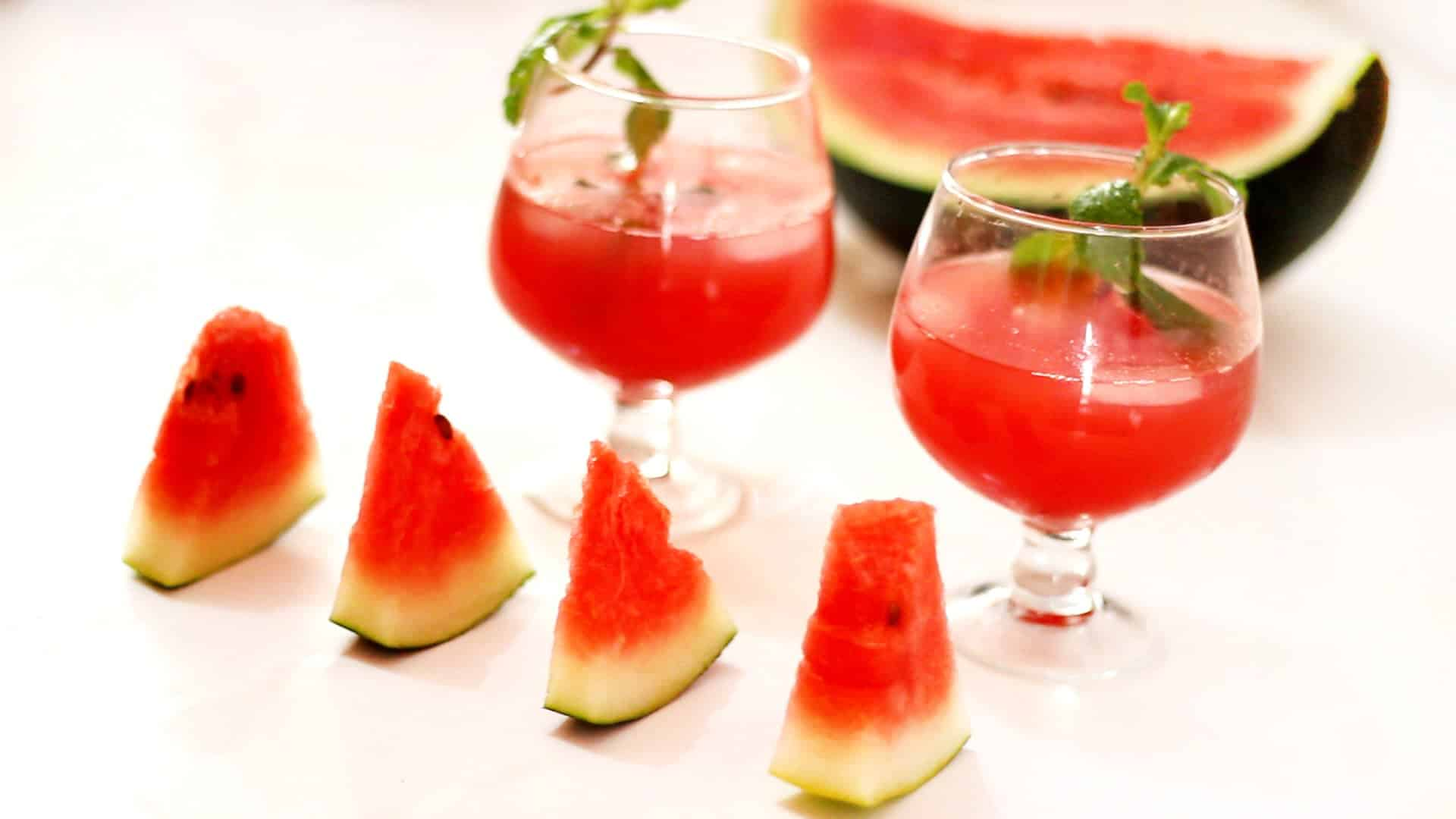 Watermelon Breeze – rum cocktail