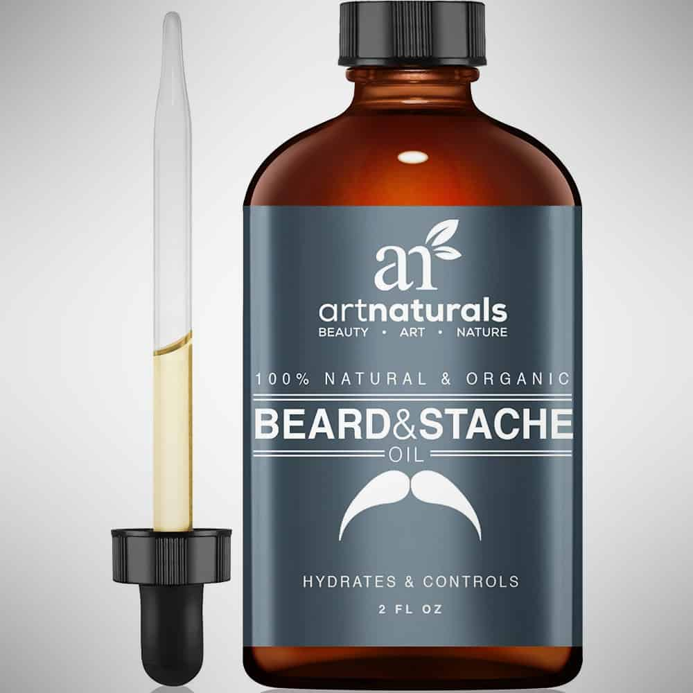 All Naturals Organic Beard Oil & Leave-In Conditioner